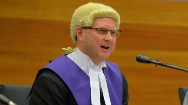 Chief Judge Peter Kidd, seen here in 2015, will deliver the sentence on live television.