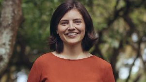 Chloe Swarbrick, 25-year-old New Zealand MP who threw out the 'OK Boomer' retort when heckled recently.