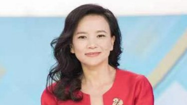 Cheng Lei, the Australian anchor for China's government-run English news channel CGTN.