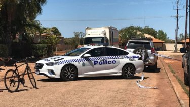 A police cordon is in place in Broome following the discovery of a woman's body.