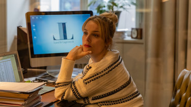 Ida Engvoll as Sofie in the Swedish romantic comedy Love & Anarchy.