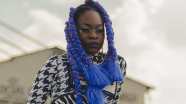 Zambian-Australian rapper Sampa The Great.