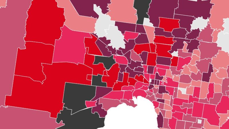 Melbourne And Victoria Coronavirus Postcode Map Data What To Keep In Mind When You Look At The Data