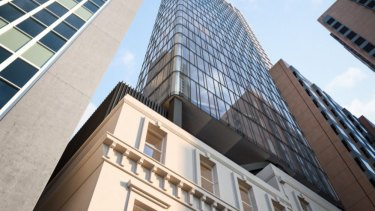 A 23-storey office tower will rise above the former German Club.