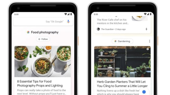 Google introduces new 'Discover' feature as Search turns 20