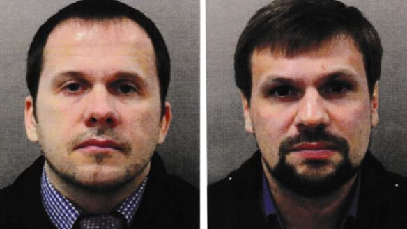 Russian intelligence officers charged over Novichok poisoning in Britain