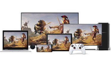 Google Stadia doesn't require a console, discs, or game installs and works on a variety of devices.
