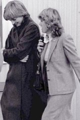 Camilla Parker Bowles, right, and Lady Diana Spencer (later the Princess of Wales) in 1980.
