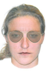 Have you seen a woman aged between 25 and 30, about 165 centimetres tall with a slim build, fair complexion and longish, light brown hair.