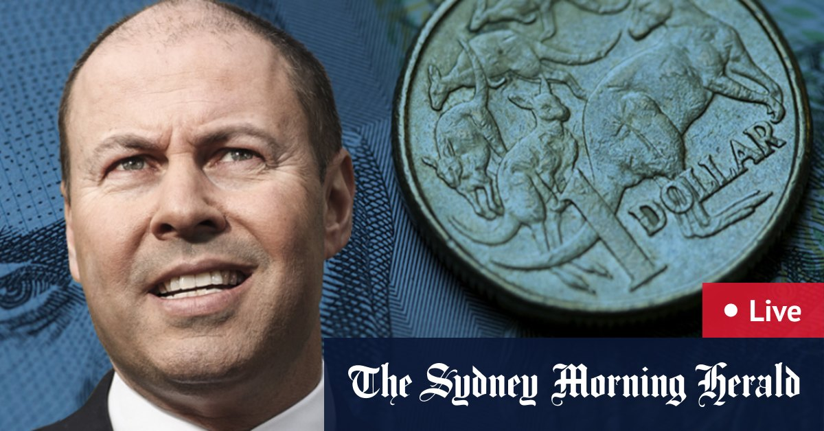 Federal budget 2021 LIVE updates: Aged care mental health and skills improvement on agenda as Josh Frydenberg hands down Australian budget – The Sydney Morning Herald