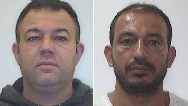 NSW Police have released images of two men they believe can assist with their inquiries into hazardous electrical work across Sydney.