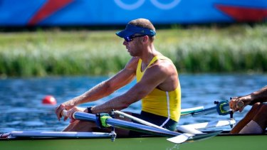 Champion: Olympic rowing great Drew Ginn is in the mix for top high performance roles with Cricket Australia.
