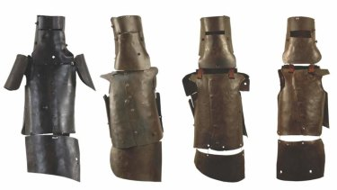 The armour worn by the Kelly Gang.