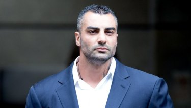 Former bikie boss Mick Hawi, pictured in 2015, was shot dead in 2018.