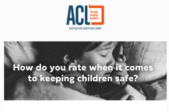 """The Australian Christian Lobby sent a """"child protection survey"""" to Victorian local council candidates last month."""