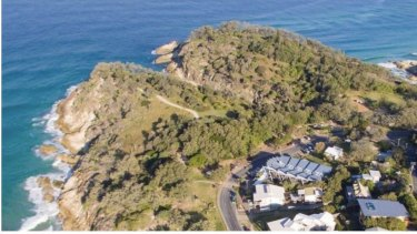 Point Lookout on North Stradbroke Island where residents are concerned at yet-to-be defined plans for a whale -watching platform.
