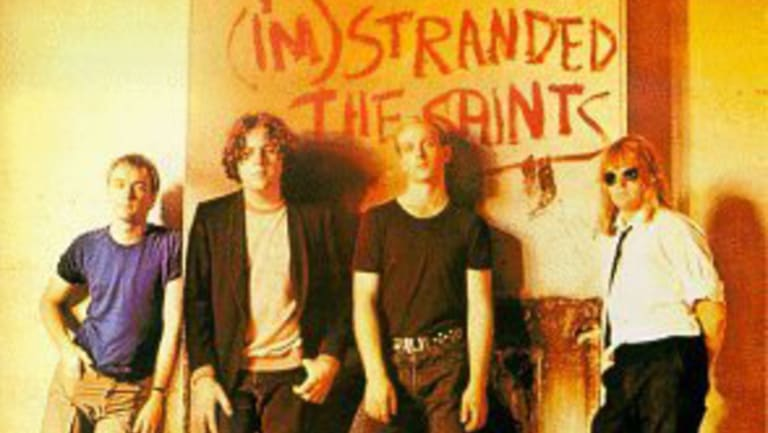 The Saints' (I'm) Stranded album cover, taken at Petrie Terrace.
