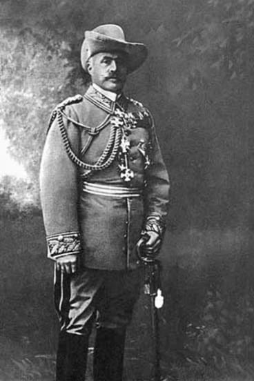 Lothar von Trotha,  German military commander  widely condemned for his brutality in Africa.