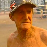 Rappville resident Danny Smith lost his house in the bushfires in northern NSW.