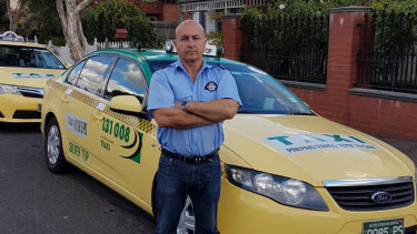 Taxi driver Nick Andrianakis.