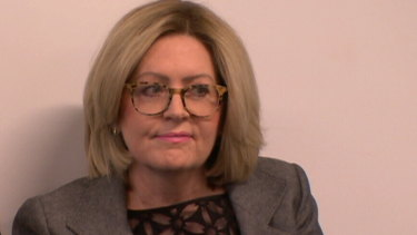 Suspended Lord Mayor Lisa Scaffidi has fronted the City of Perth inquiry.