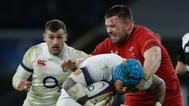 Intense: Wales and England are both undefeated heading into their Six Nations stoush this weekend.