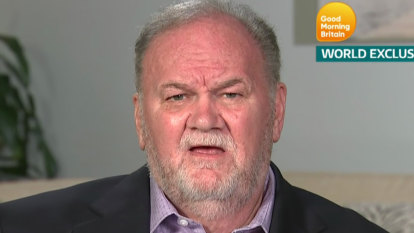 Thomas Markle says he has been 'ghosted' by daughter Meghan