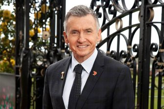 The face of Channel Seven's racing coverage Bruce McAvaney.