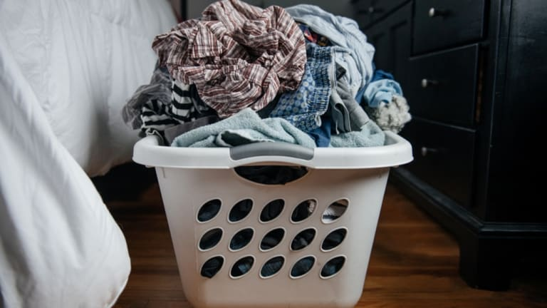 Get someone else to do your laundry.