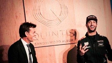 Adam Gilchrist and Daniel Ricciardo were brand ambassadors for Quintis.