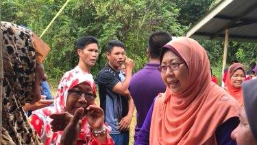 Malaysian MP and Lynas  critic Fuziah Salleh.