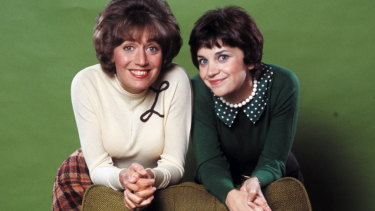 Penny Marshall, left, found fame in Laverne & Shirley.