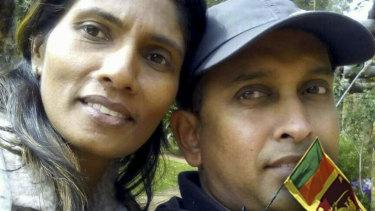 Upendra Ihalahewa has been charged with murdering his wife Darshika Nilmini Kudaligama Withana.