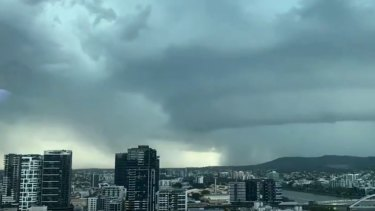 Severe thunderstorms are expected to hit Brisbane on Thursday and Friday.