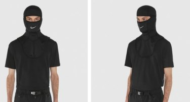 The sold out Nike balaclava on designer brand's Alyx's website.