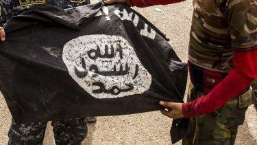 An ISIS flag.