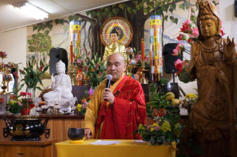 Master Dao, the spiritual leader of the temple.