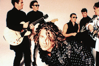 By the late 1980s, INXS were one of the biggest bands in the world.