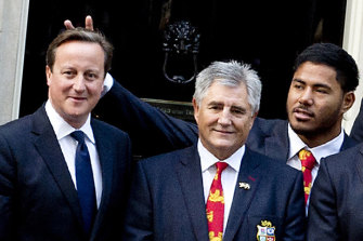 Pranks can be funny, but not all humour is a 'joke'. British and Irish Lions rugby player Manu Tuilagi later apologised for giving former British prime minister David Cameron bunny ears in 2013.