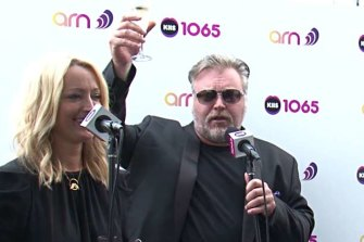 Kiis hosts Kyle Sandilands and Jackie O finished second in breakfast.