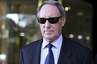 Convicted paedophile Robert Hughes.