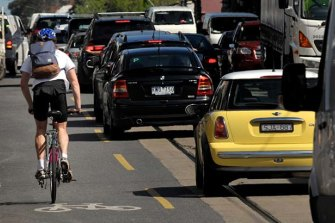 Melbourne's traffic congestion is set to worsen, according to the Public Transport Users Association.