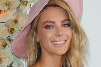 Jennifer Hawkins is no longer Myer's golden girl after refusing a pay cut.