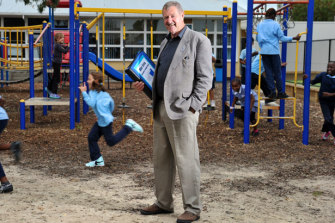 Dandenong North Primary School principal Kevin Mackay believes phonics is essential in teaching students from non-English speaking backgrounds.