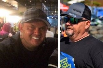 Cameron Martin (right) was a car enthusiast and keen jet skier. He died less than two kilometres from where his friend ShaneRoss(left) was found dead several days later.