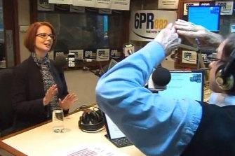 Howard Sattler's controversial interview with Julia Gillard on 6PR.