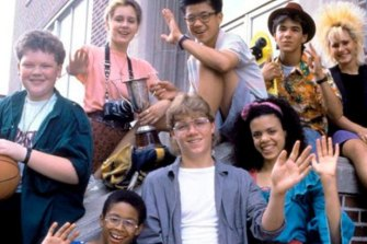 '80s style: the kids of <i>Degrassi Junior High</i>.
