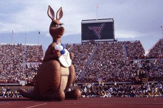 In 1982 the Commonwealth Games were held at QEII Stadium in Brisbane.