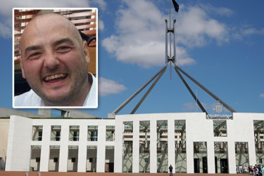 David Gooley's company, Steelvision, was responsible for a security upgrade at Parliament House.