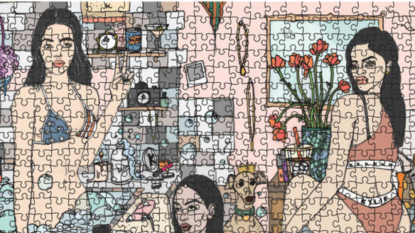 Piece of mind: jigsaw puzzles are on trend this summer